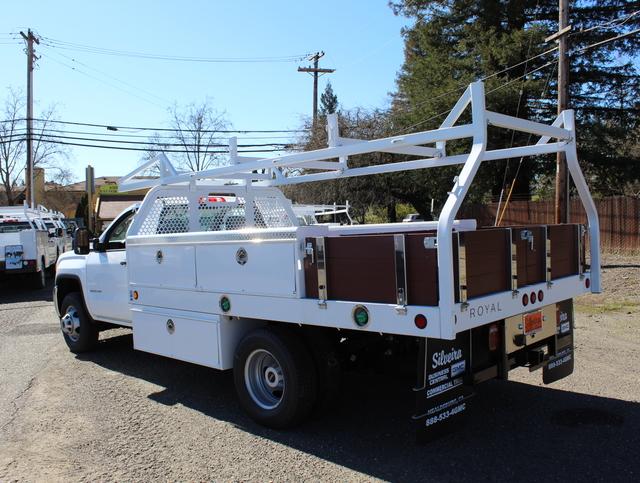2018 Sierra 3500 Regular Cab DRW 4x2,  Royal Contractor Body #3180846 - photo 1
