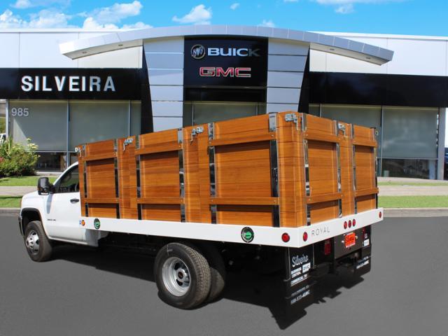 2019 Sierra 3500 Regular Cab DRW 4x2,  Royal Stake Bed #3190343 - photo 1