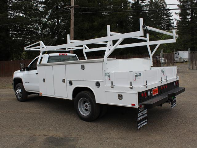 2019 Sierra 3500 Regular Cab DRW 4x2,  Harbor ComboMaster Combo Body #3190367 - photo 2