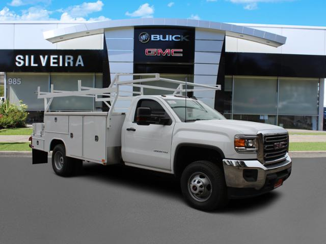 2019 Sierra 3500 Regular Cab DRW 4x2, Harbor Combo Body #3190367 - photo 1