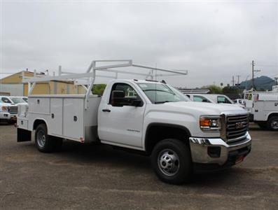 2019 Sierra 3500 Regular Cab DRW 4x2,  Harbor ComboMaster Combo Body #3190367 - photo 1