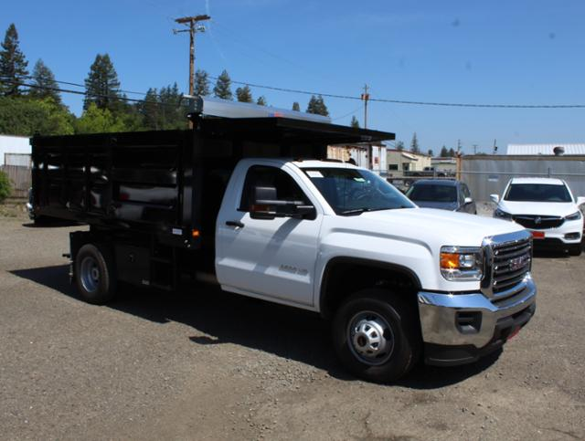 2019 Sierra 3500 Regular Cab DRW 4x2,  Knapheide Landscape Dump #3190532 - photo 1