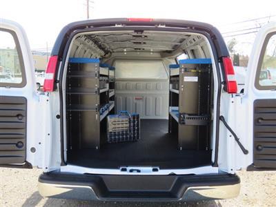 2021 GMC Savana 2500 4x2, Knapheide KVE Upfitted Cargo Van #3210188 - photo 2