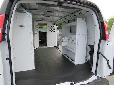 2021 GMC Savana 2500 4x2, Harbor Upfitted Cargo Van #3210390 - photo 2