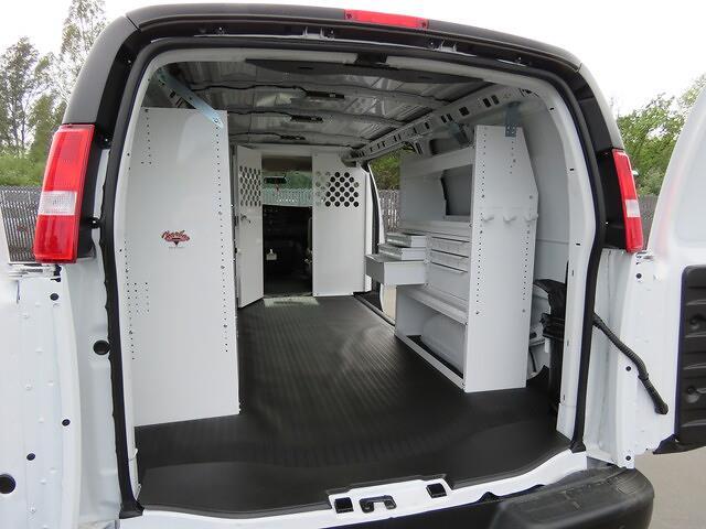 2021 GMC Savana 2500 4x2, Harbor Upfitted Cargo Van #3210393 - photo 1