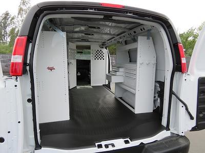 2021 GMC Savana 2500 4x2, Harbor Upfitted Cargo Van #3210393 - photo 2
