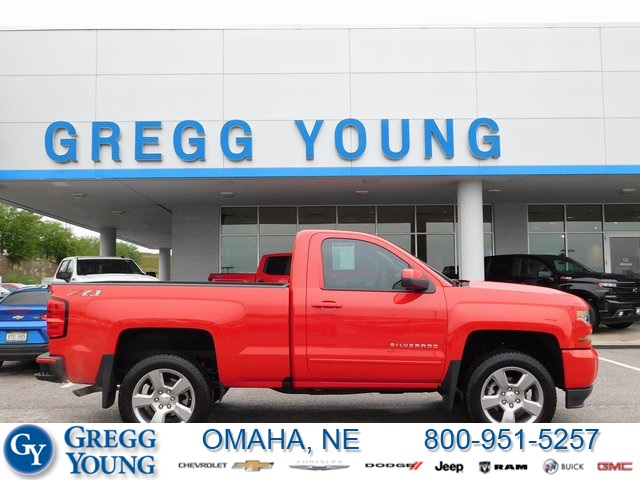 2018 Silverado 1500 Regular Cab 4x4,  Pickup #C21402A - photo 3