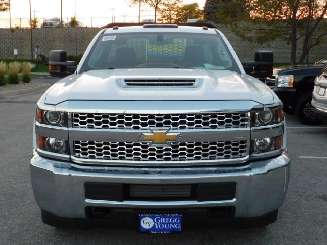 2019 Silverado 3500 Regular Cab DRW 4x4,  Knapheide PGNB Gooseneck Platform Body #C22235 - photo 20