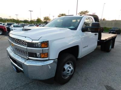 2019 Silverado 3500 Regular Cab DRW 4x4,  Knapheide PGNB Gooseneck Platform Body #C22235 - photo 4