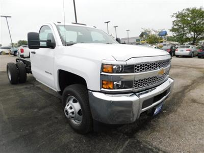 2019 Silverado 3500 Regular Cab DRW 4x4,  Cab Chassis #C22262 - photo 1