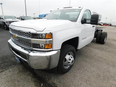 2019 Silverado 3500 Regular Cab DRW 4x4,  Cab Chassis #C22262 - photo 5