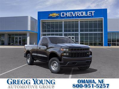 2021 Chevrolet Silverado 1500 Regular Cab 4x4, Pickup #C26592 - photo 1