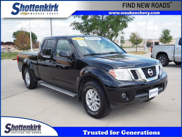 2015 Nissan Frontier Crew Cab 4x4, Pickup #46110A - photo 1