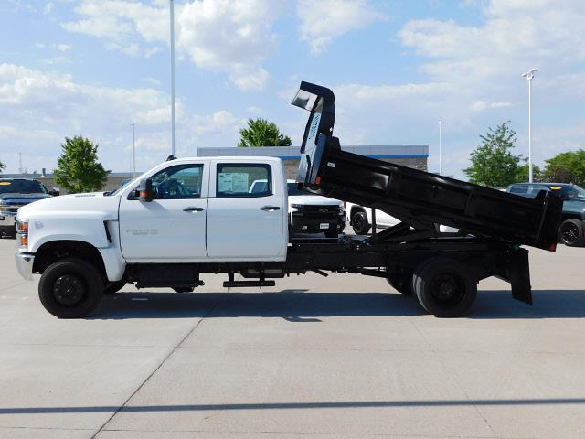 2019 Chevrolet Silverado 6500 Crew Cab DRW 4x4, 11' Dump Truck #A5688 - photo 19