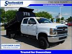 2019 Chevrolet Silverado 6500 Crew Cab DRW 4x4, 11' Dump Truck #A5688 - photo 1