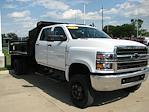 2019 Chevrolet Silverado 6500 Crew Cab DRW 4x4, 11' Dump Truck #A5688 - photo 4