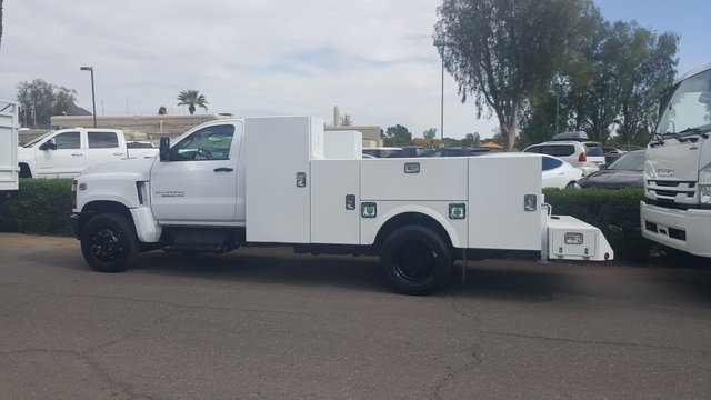 2019 Silverado Medium Duty Regular Cab DRW 4x2,  Stahl Welder Body #192350 - photo 1