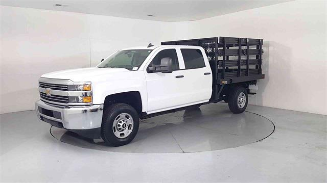 2017 Chevrolet Silverado 2500 Crew Cab 4x2, Stake Bed #205173A - photo 4