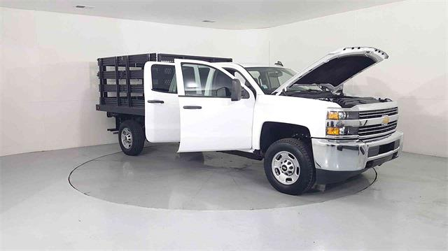 2017 Chevrolet Silverado 2500 Crew Cab 4x2, Stake Bed #205173A - photo 9