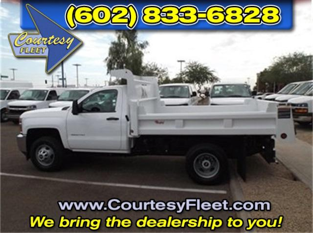 2016 Silverado 3500 Regular Cab, Dump Body #64497 - photo 3