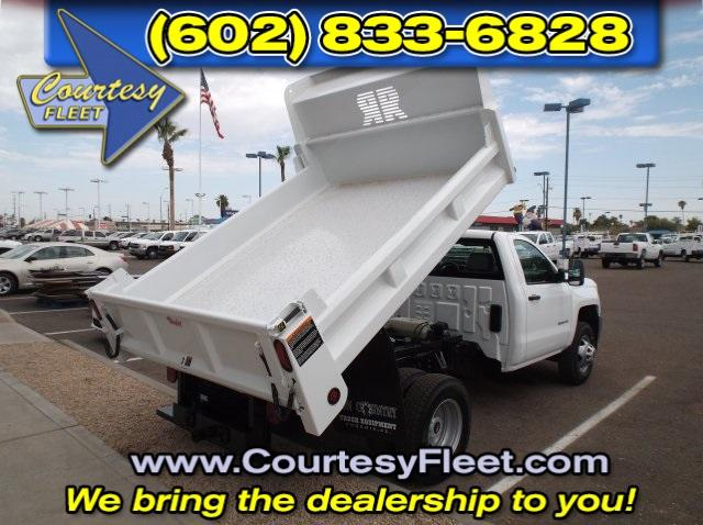 2016 Silverado 3500 Regular Cab, Dump Body #64583 - photo 4