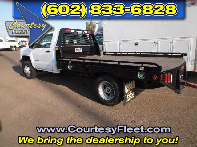 2016 Silverado 3500 Regular Cab, Platform Body #64613 - photo 2