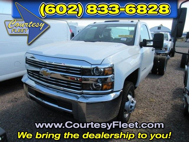 2016 Silverado 3500 Regular Cab, Cab Chassis #65221 - photo 3