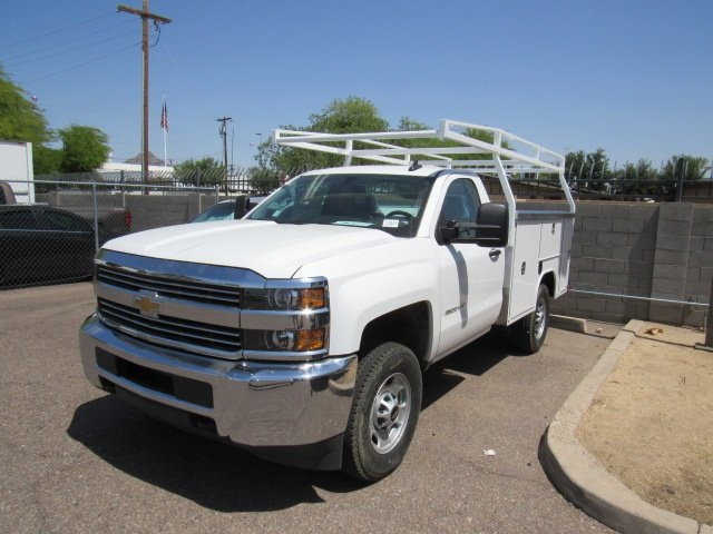 2017 Silverado 2500 Regular Cab 4x4 Service Body #73650 - photo 4