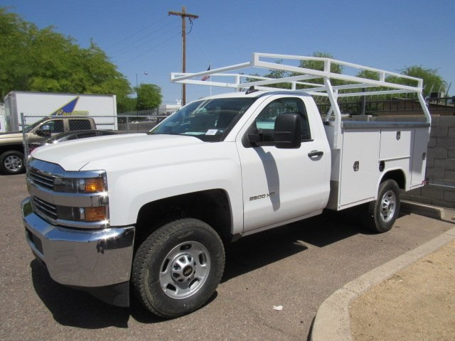 2017 Silverado 2500 Regular Cab 4x4 Service Body #73650 - photo 5