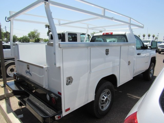 2017 Silverado 2500 Regular Cab 4x4 Service Body #73650 - photo 2