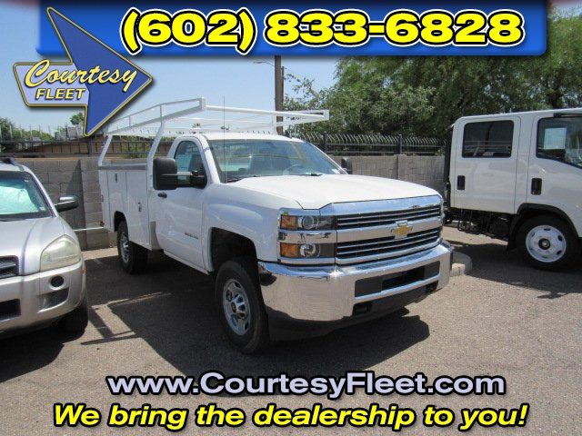 2017 Silverado 2500 Regular Cab 4x4, Service Body #73650 - photo 1