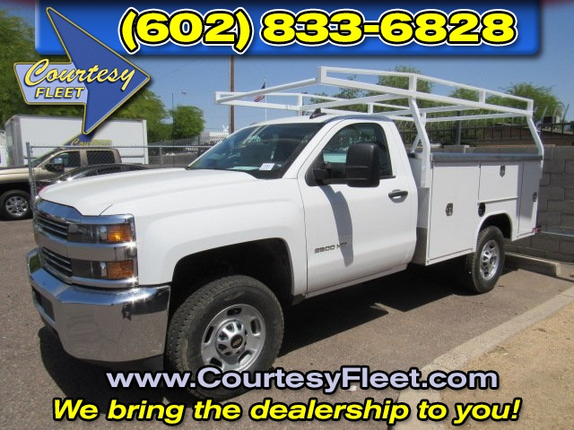 2017 Silverado 2500 Regular Cab 4x4, Service Body #73650 - photo 5