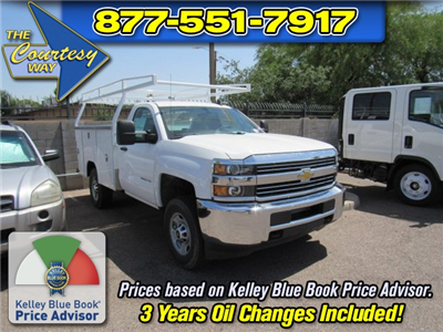 2017 Silverado 2500 Regular Cab 4x4 Service Body #73650 - photo 1