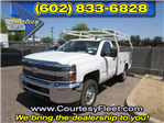 2017 Silverado 2500 Regular Cab 4x4, Service Body #73650 - photo 4