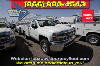 2017 Silverado 2500 Regular Cab 4x2,  Harbor TradeMaster Service Body #75469 - photo 1
