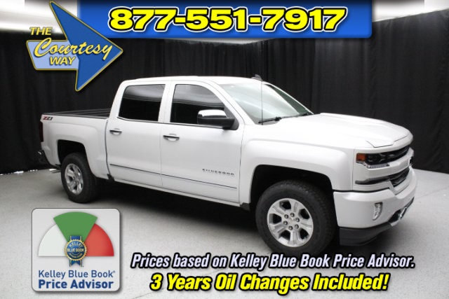 2018 Silverado 1500 Crew Cab 4x4, Pickup #80864 - photo 1