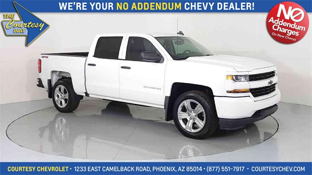 2018 Silverado 1500 Crew Cab 4x4, Pickup #81573 - photo 1