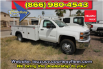 2018 Silverado 3500 Regular Cab DRW 4x4,  Monroe MSS II Deluxe Service Body #82722 - photo 2