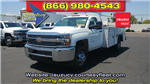 2018 Silverado 3500 Regular Cab DRW 4x4,  Monroe MSS II Deluxe Service Body #82722 - photo 1