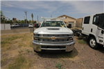 2018 Silverado 3500 Regular Cab DRW 4x4,  Monroe MSS II Deluxe Service Body #82722 - photo 7