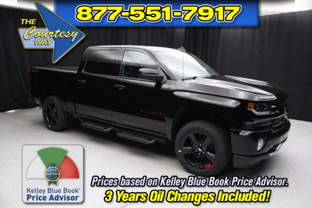 2018 Silverado 1500 Crew Cab 4x4,  Pickup #83092 - photo 1