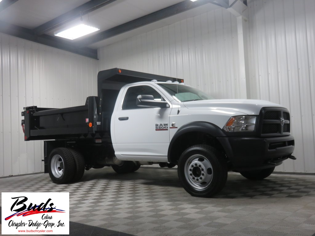 2016 Ram 5500 Regular Cab DRW 4x4, Galion Dump Body #632850 - photo 3