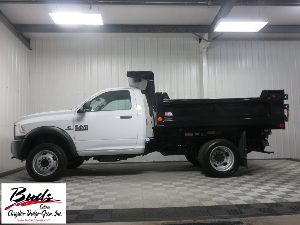 2016 Ram 5500 Regular Cab DRW 4x4, Galion Dump Body #632850 - photo 5
