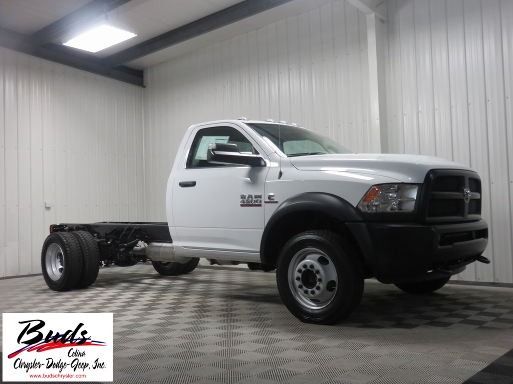 2016 Ram 4500 Regular Cab DRW 4x4, Cab Chassis #632860 - photo 3