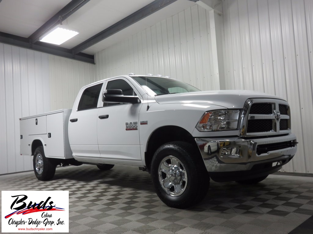 2017 Ram 3500 Crew Cab 4x4, Knapheide Service Body #732680 - photo 3