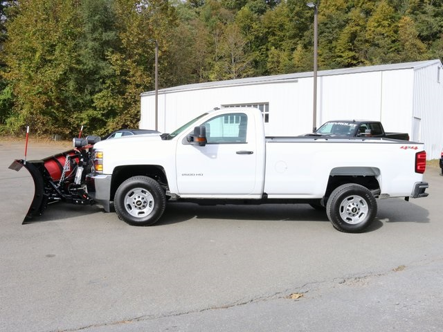 2018 Silverado 2500 Regular Cab 4x4,  Western Snowplow Pickup #G5195 - photo 4