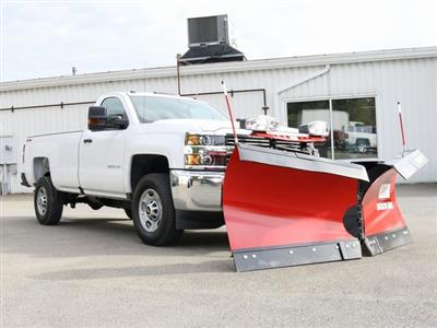 2018 Silverado 2500 Regular Cab 4x4,  Western Snowplow Pickup #G5195 - photo 1