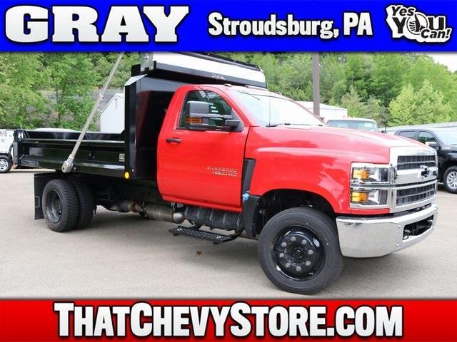 2020 Chevrolet Silverado Medium Duty Crew Cab DRW 4x2, Crysteel Dump Body #G6040 - photo 1