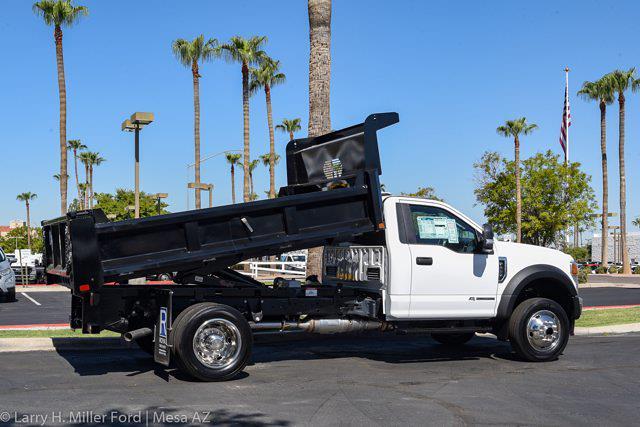 2021 Ford F-450 Regular Cab DRW 4x4, Rugby Dump Body #`` - photo 11