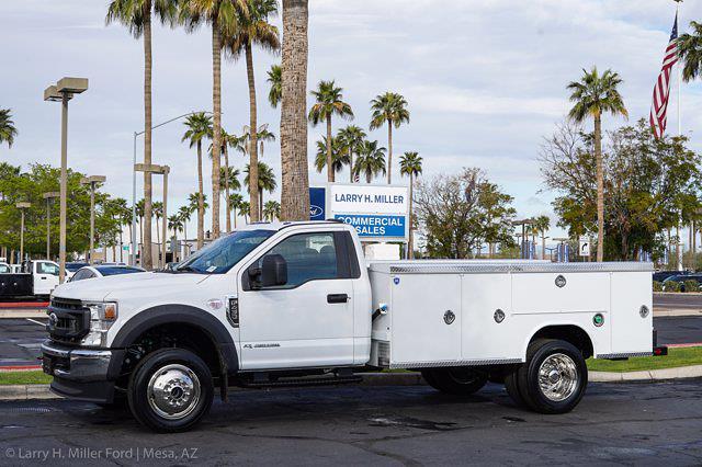 2021 Ford F-450 Regular Cab DRW 4x4, Rugby Dump Body #`` - photo 3